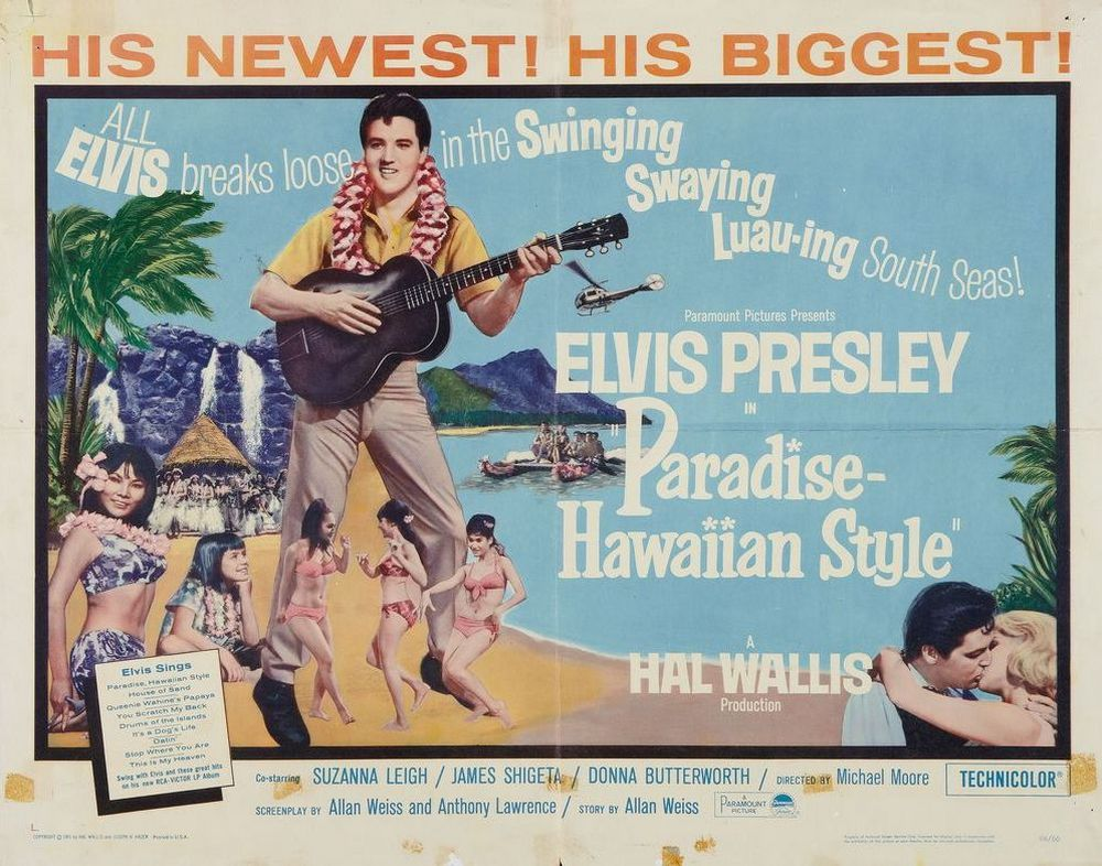 21 Paradise Hawaiian Style - USA half-sheet