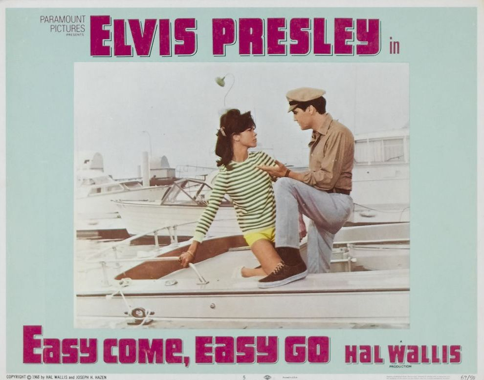 23 Easy Come, Easy go - USA lobby card 01