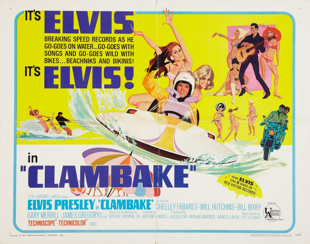 25 Clambake - USA half-sheet