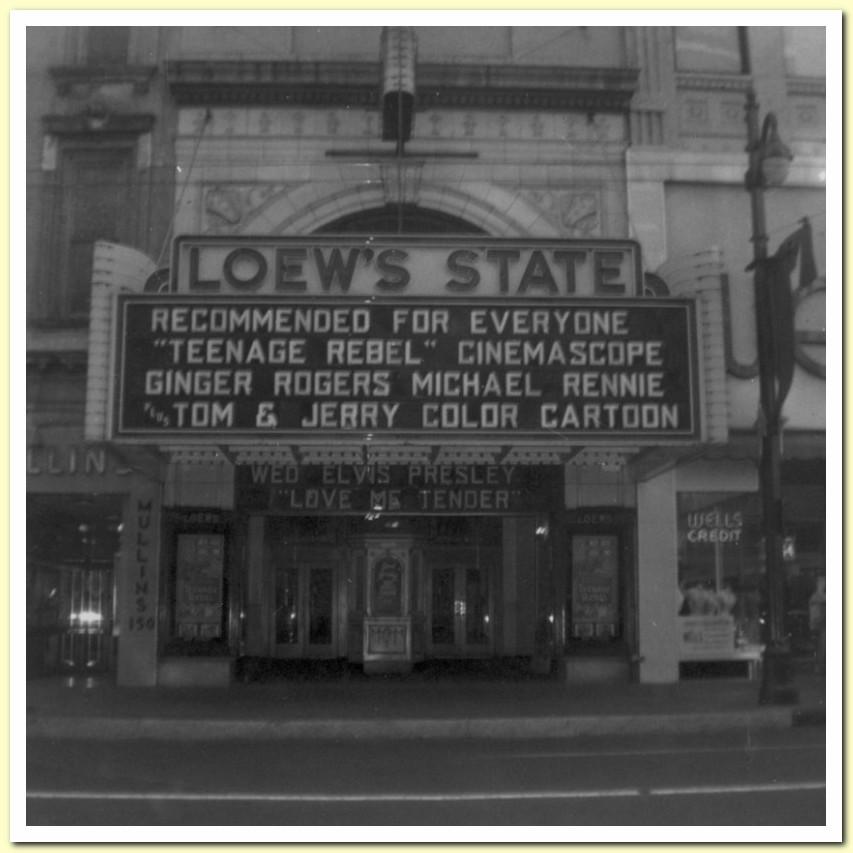 Loew's in Memphis announcing LMT