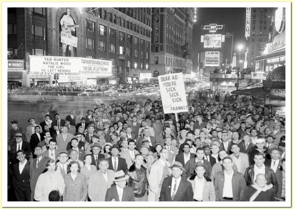 November, 1956 Adlai Stevenson