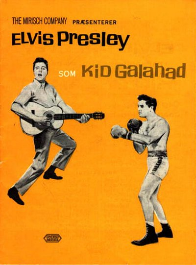 Kid Galahad - Denmark film program