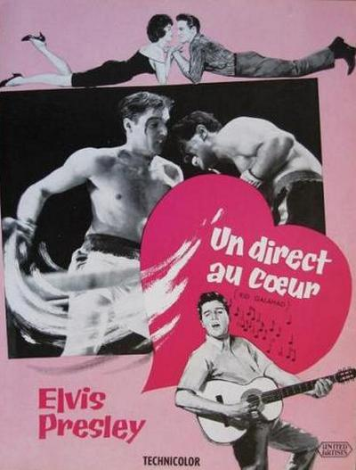 Kid Galahad - France pressbook