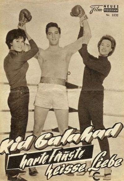Kid Galahad - Germany film programm