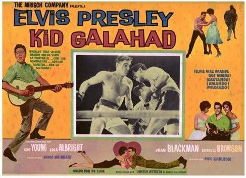 Kid Galahad - Mexico lobby card 1