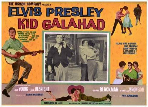 Kid Galahad - Mexico lobby card 3