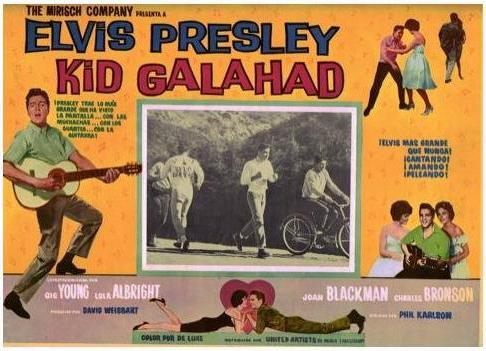 Kid Galahad - Mexico lobby card 4