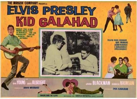 Kid Galahad - Mexico lobby card 5