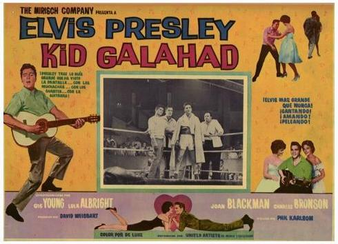 Kid Galahad - Mexico lobby card 6