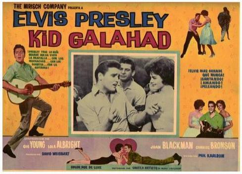Kid Galahad - Mexico lobby card 7