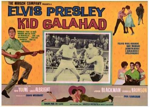 Kid Galahad - Mexico lobby card 8