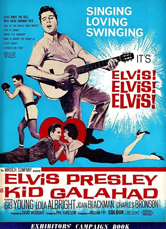 Kid Galahad - UK pressbook