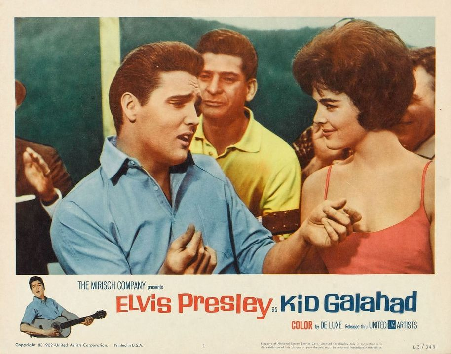 Kid Galahad - USA lobby card 1