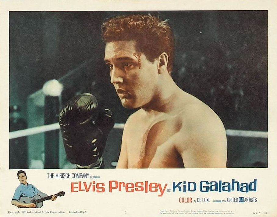 Kid Galahad - USA lobby card 2