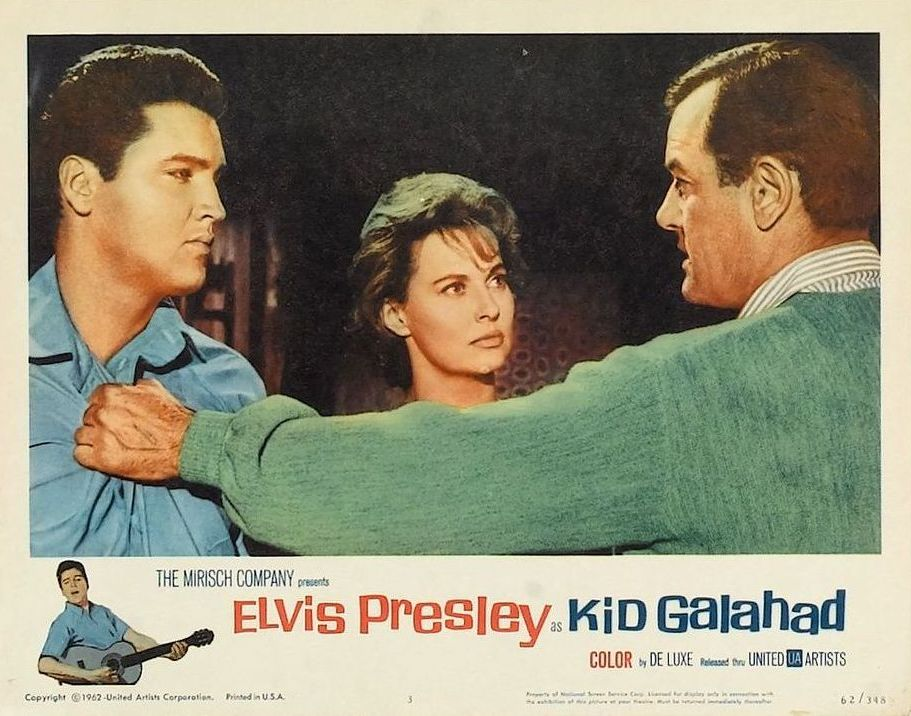 Kid Galahad - USA lobby card 3