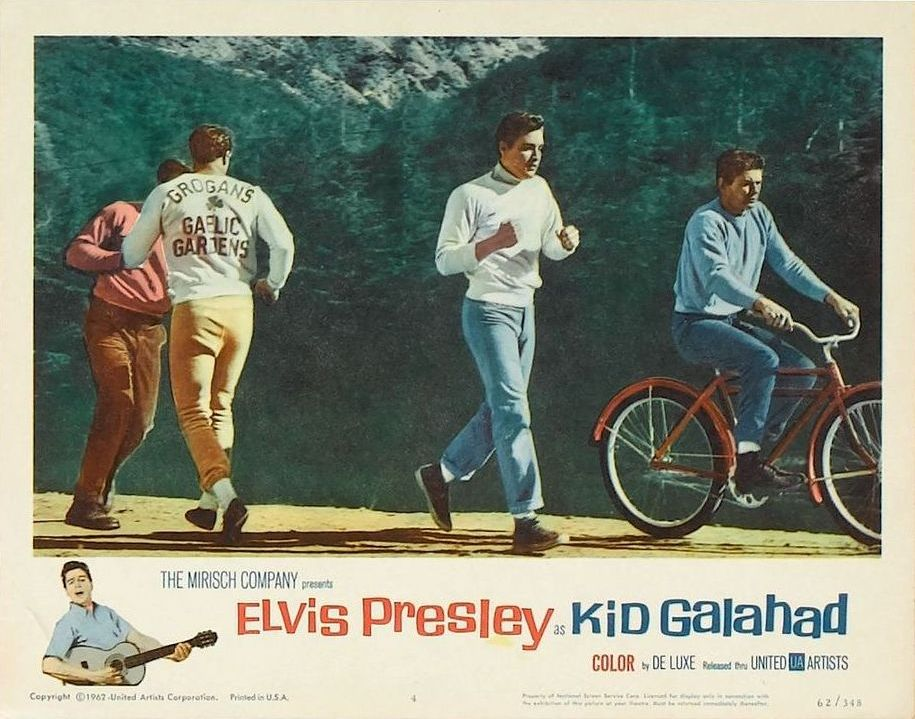 Kid Galahad - USA lobby card 4