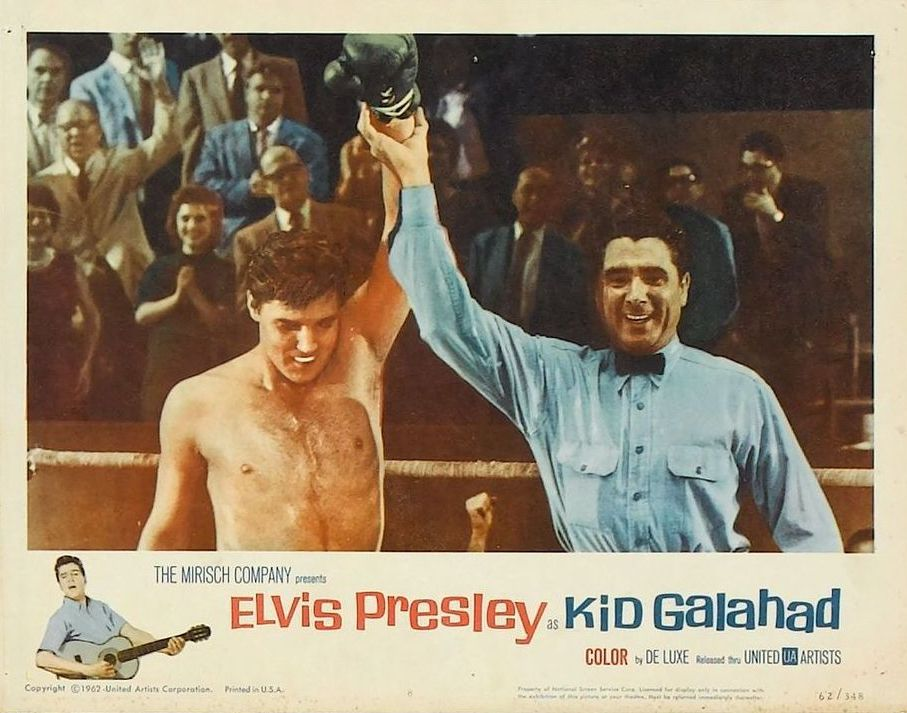 Kid Galahad - USA lobby card 5