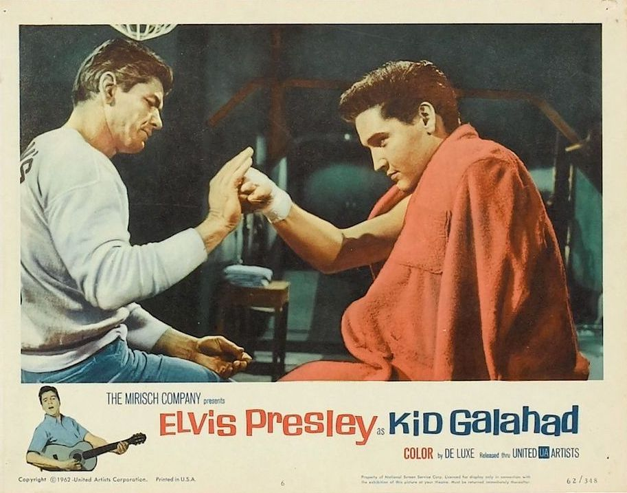 Kid Galahad - USA lobby card 6