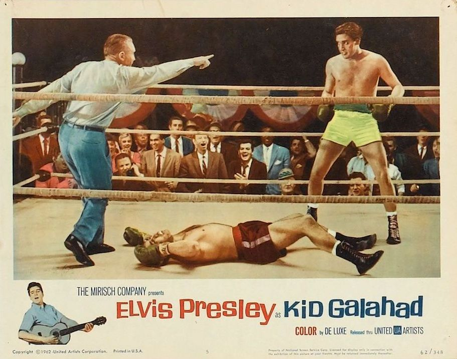 Kid Galahad - USA lobby card 8