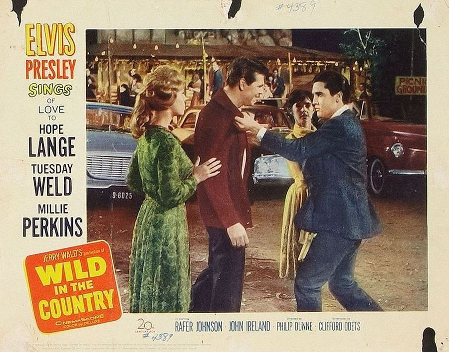 Wild In The Country - USA lobby card 4