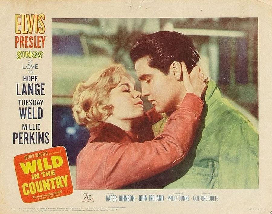 Wild in the Country - USA lobby card 2