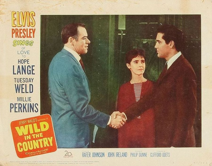 Wild in the Country - USA lobby card 5