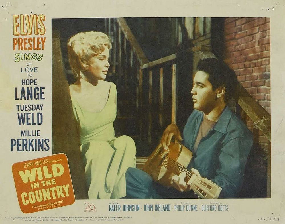 Wild in the Country - USA lobby card 7