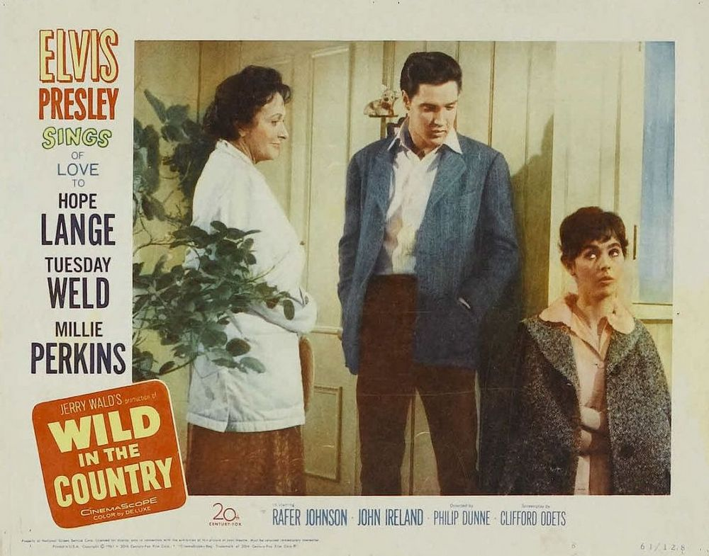 Wild in the Country - USA lobby card 8