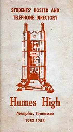 1952-53 Humes Student Directory Elvin 01