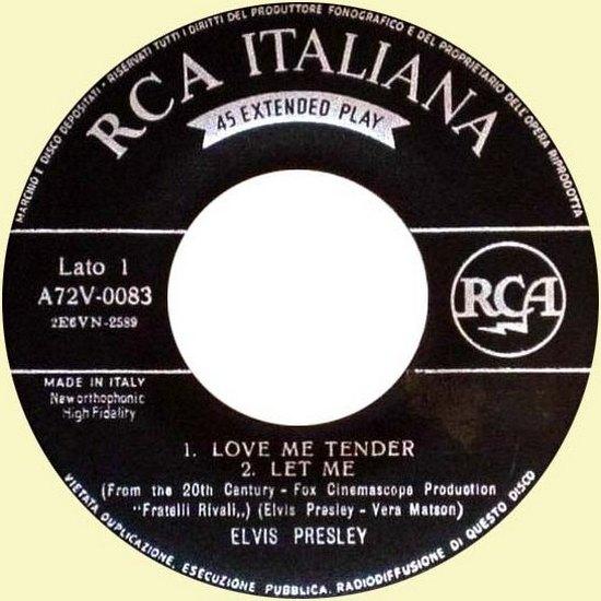 A72V 0083 03 (12-1956) allereerste ital uitgave, usa met stickers over logo
