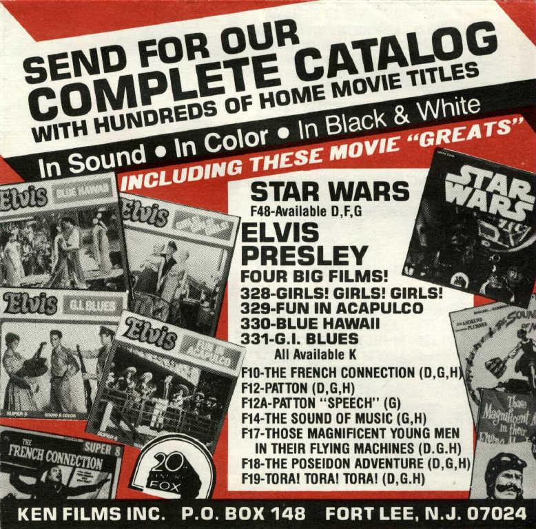 Ken Films catalog 1978
