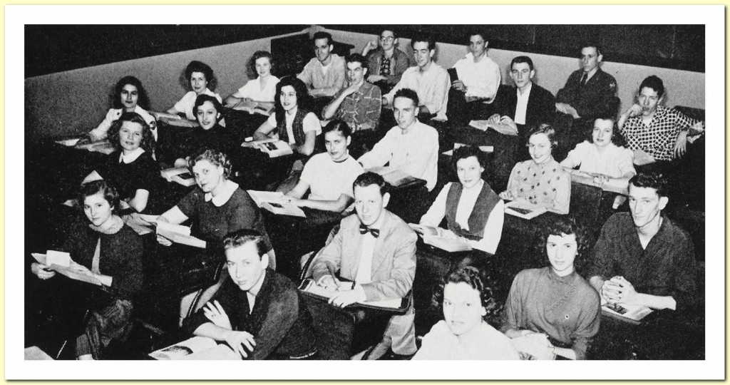 The Herald (Humes Yearbook 1953) 04 English class c