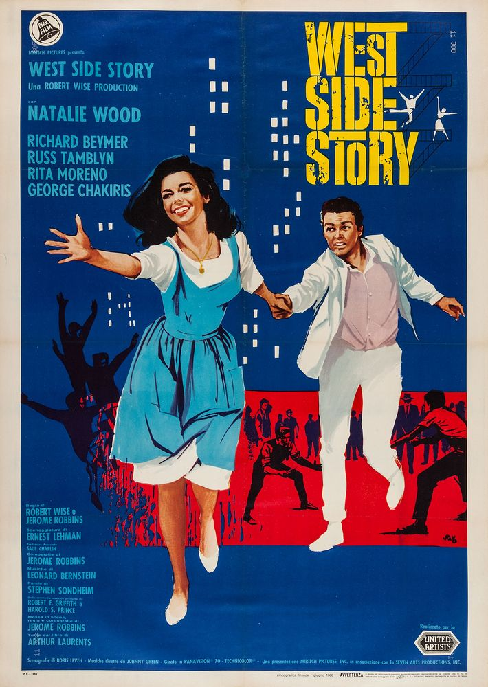 West Side Story - Italy 2-sheet (1966)