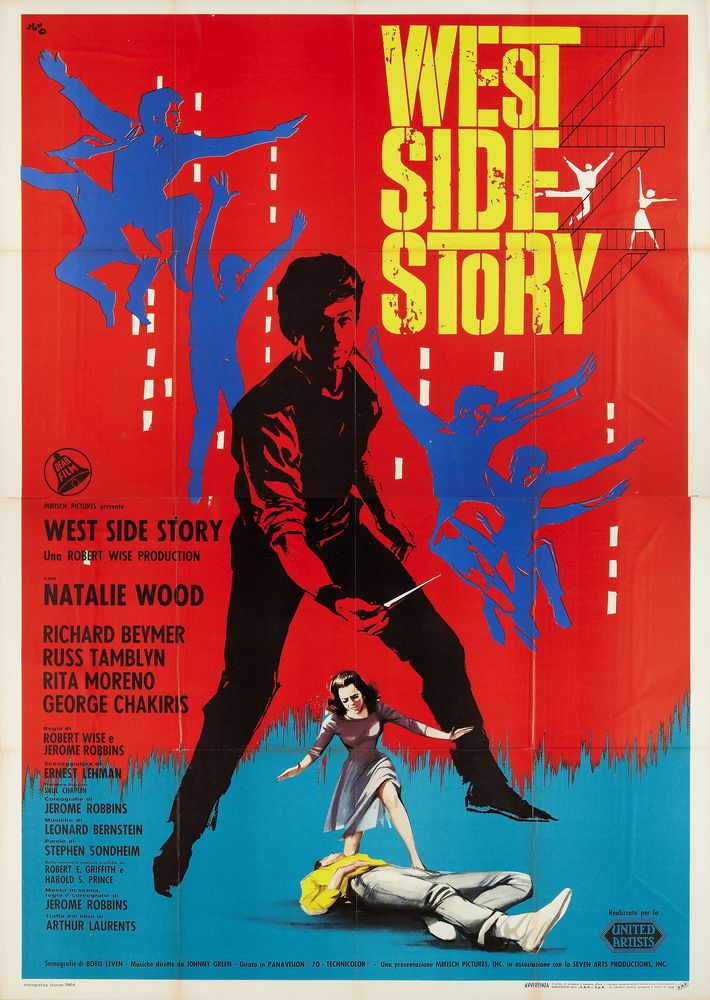 West Side Story - Italy 4-sheet (1961)