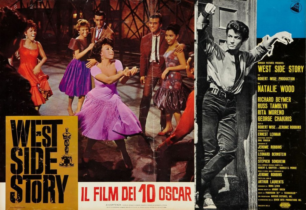 the significance of the west side story a film by jerome robbins and robert wise in society