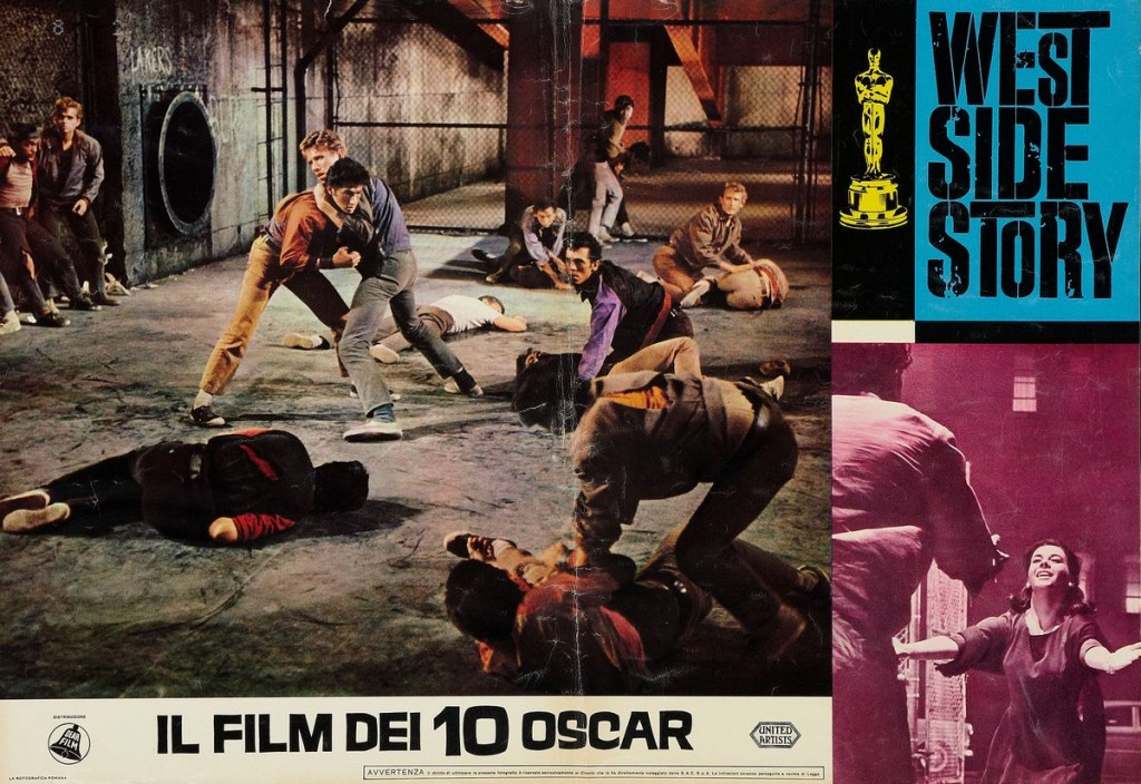 West Side Story - Italy photobusta 2