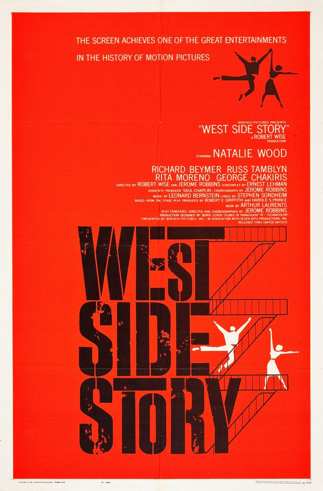 West Side Story - USA 1-sheet (1961)