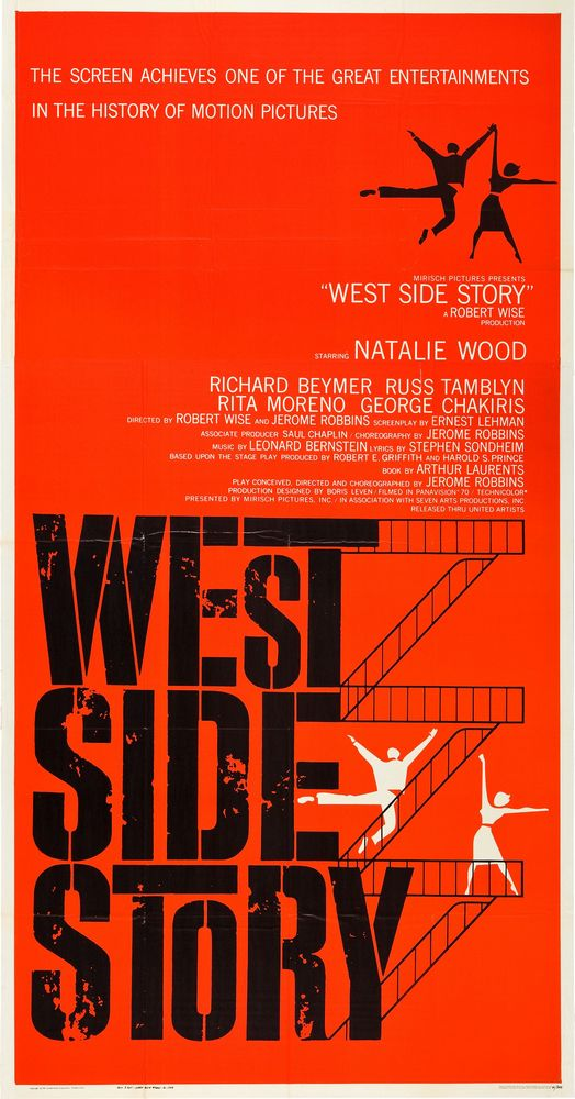 West Side Story - USA 3-sheet (1961)