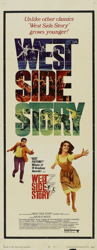 West Side Story - USA insert (1968) Oscars