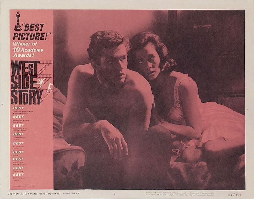 West Side Story lobby card 2 Oscar