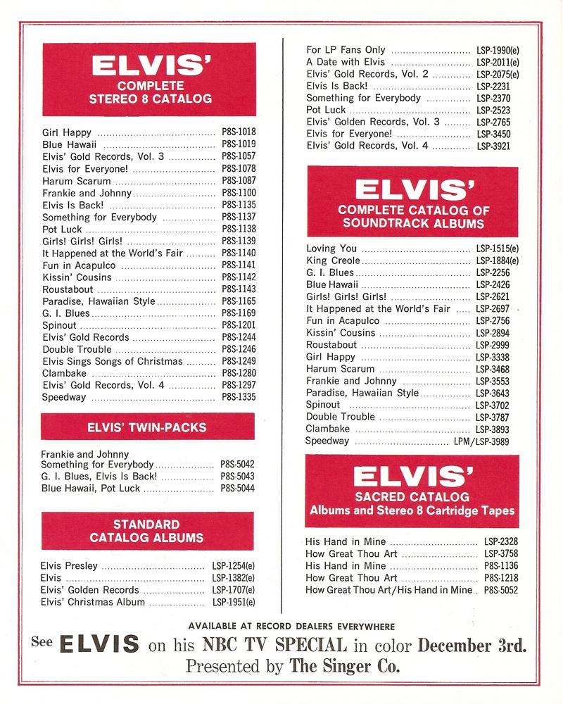 1968-11 Singer Presents Elvis photo back (8x10) upgrade (Cayetano)