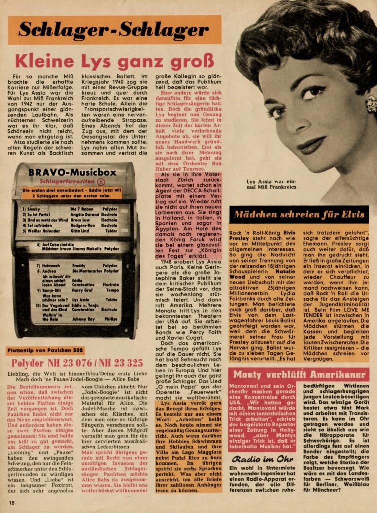 1956-17 Madchen schreien fur Elvis