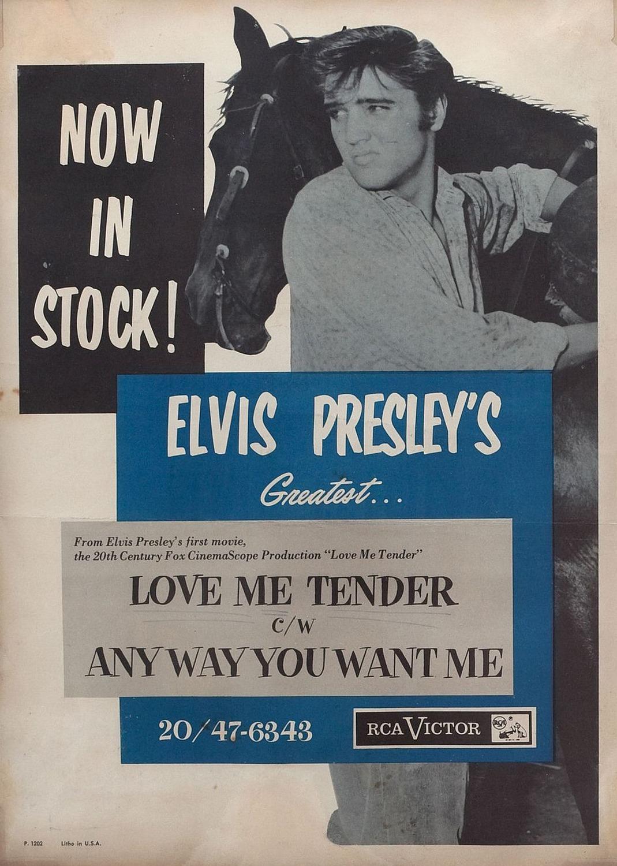 1956 Love Me Tender