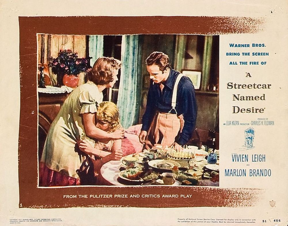 A Streetcar Named Desire (1951) lobby card 01