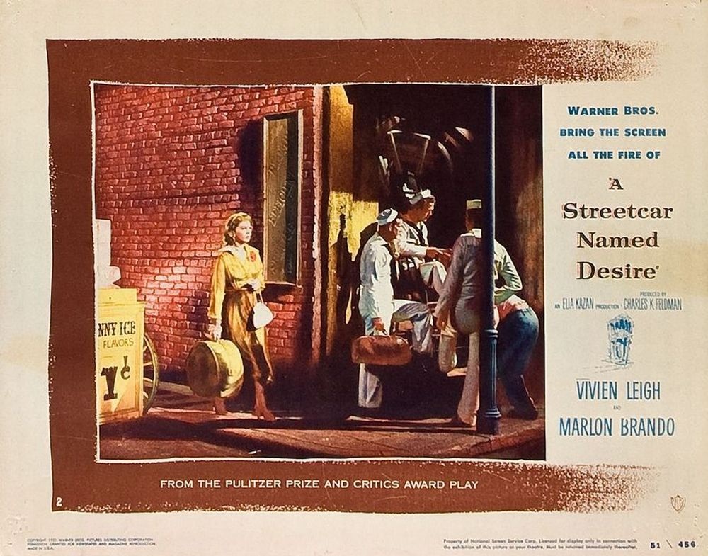 A Streetcar Named Desire (1951) lobby card 02