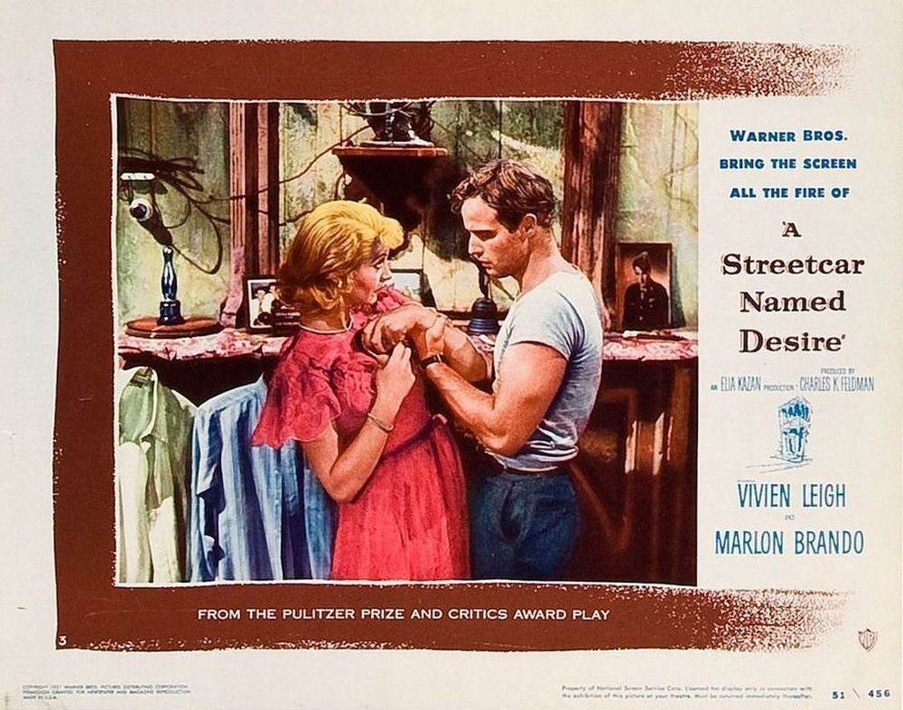 A Streetcar Named Desire (1951) lobby card 03
