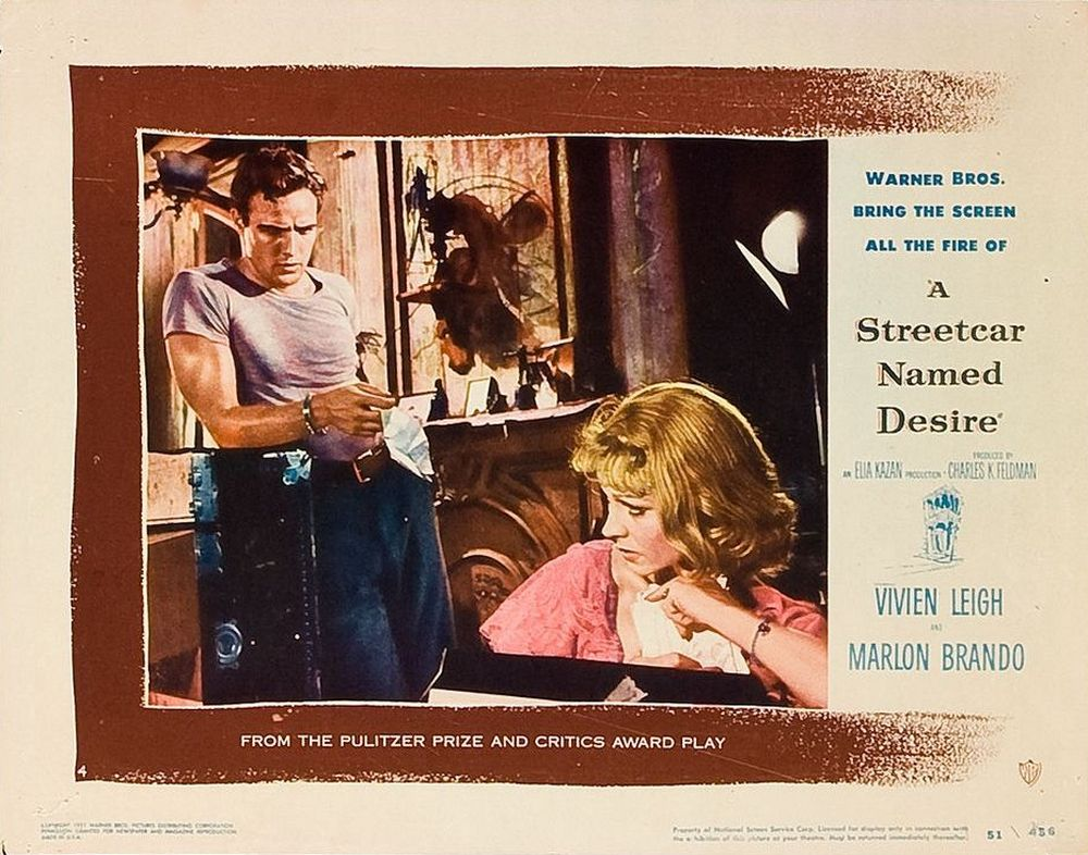 A Streetcar Named Desire (1951) lobby card 04