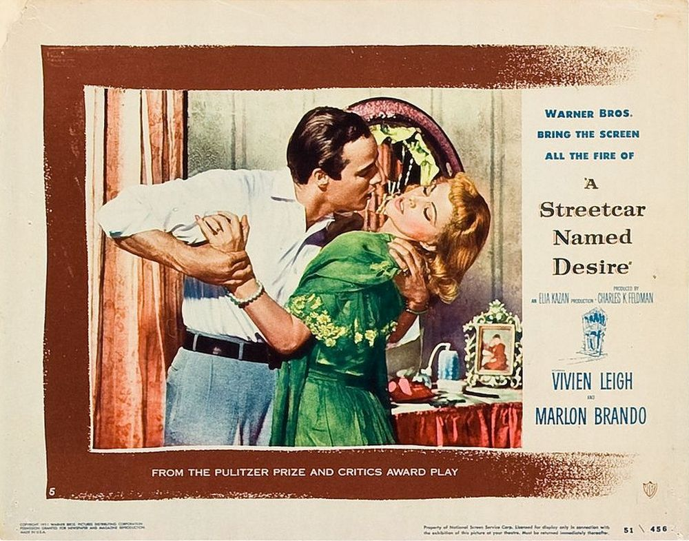 A Streetcar Named Desire (1951) lobby card 05