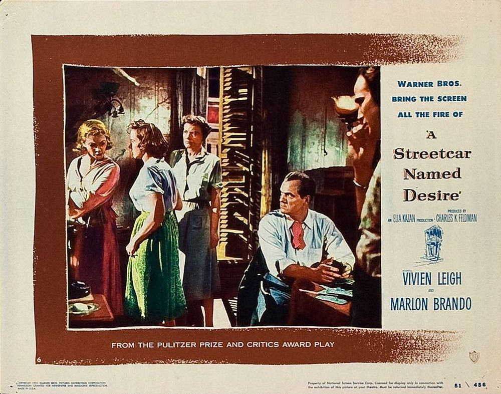 A Streetcar Named Desire (1951) lobby card 06