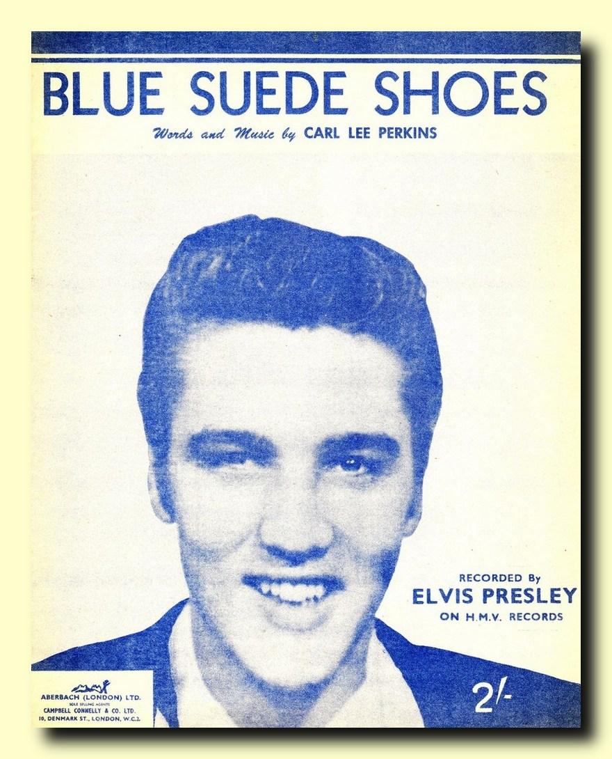 HMV Blue Suede